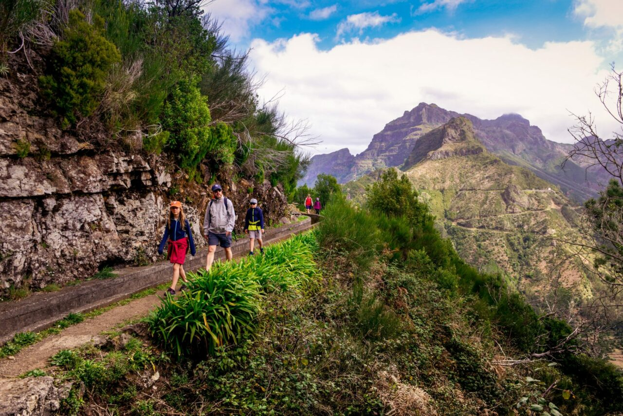 Bergen och levadorna på Madeira