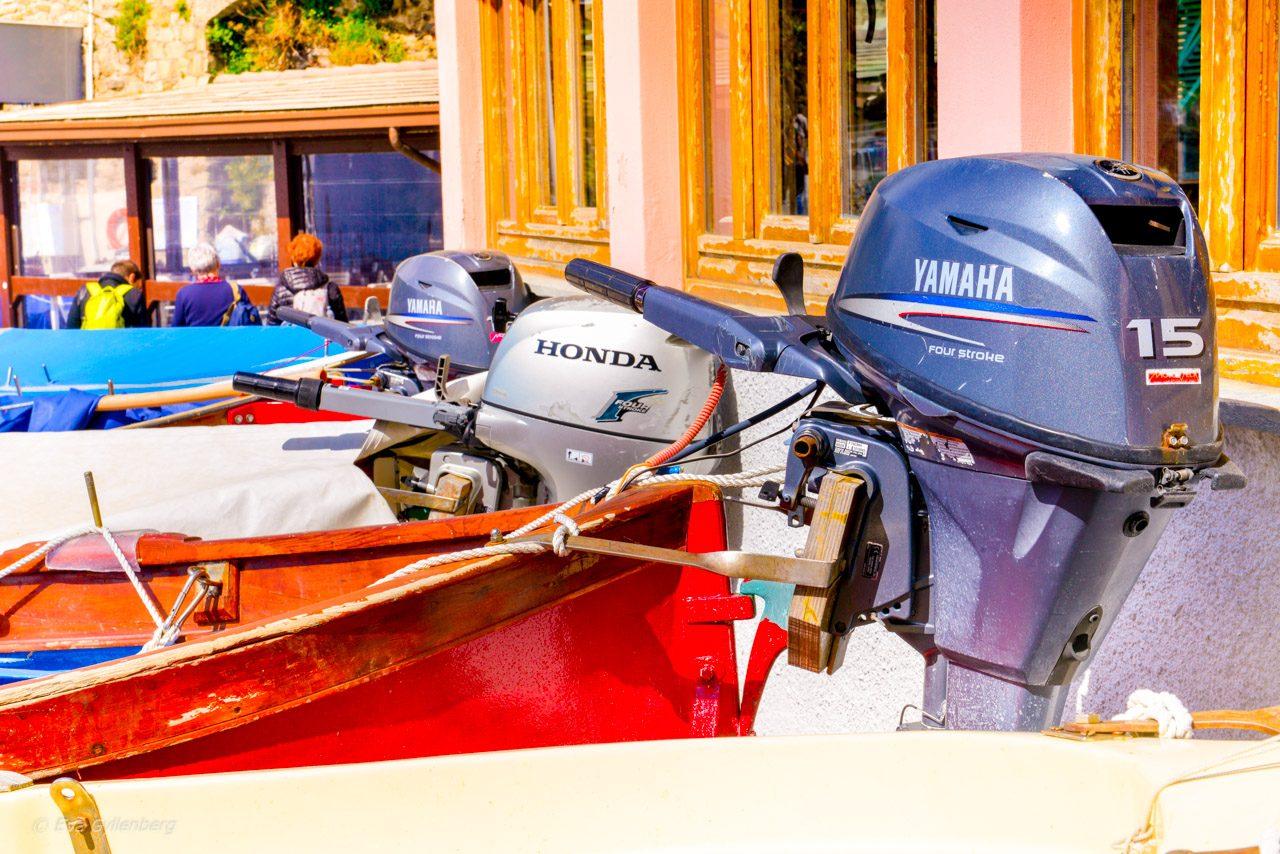 Båtar i Manarola