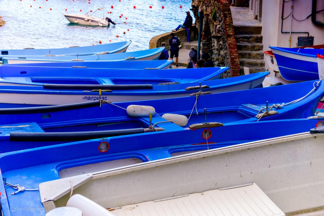 Båtar i Riomaggiore