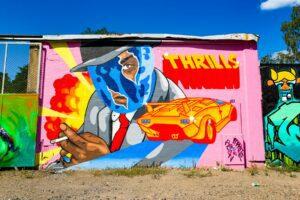 Konstrunda vid Snösätra Graffiti Wall of Fame 41