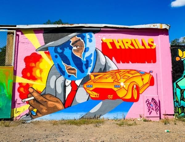 Konstrunda vid Snösätra Graffiti Wall of Fame 3