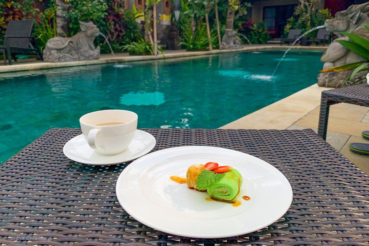Afternoon tea på Dwaraka Royal Villas