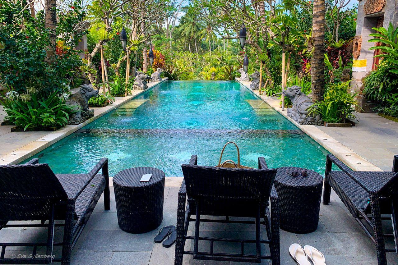 Största poolen på Dwaraka Royal Villas