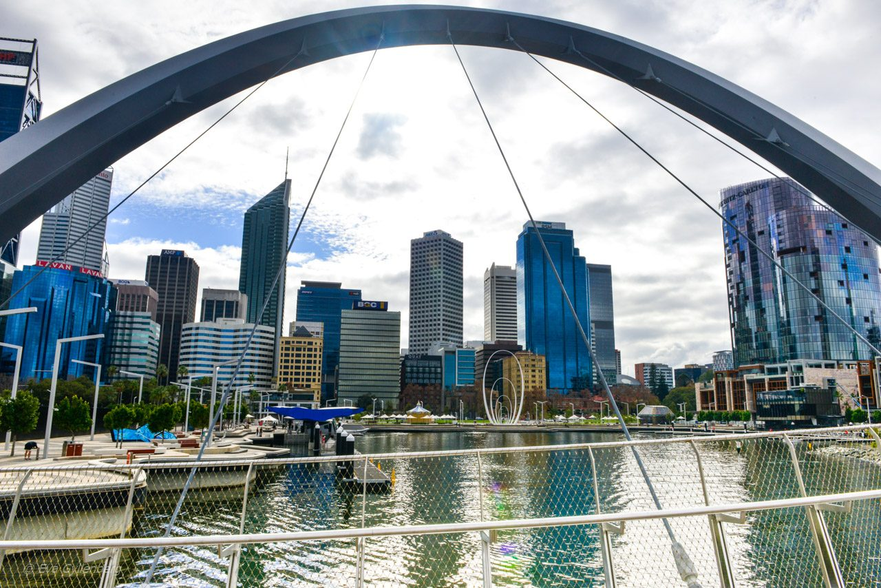 Elisabeth Quay - Perth - Australien