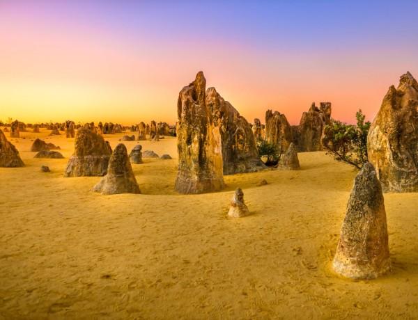 Pinnacles desert - Öknen med de mystiska kalkstenspelarna 5
