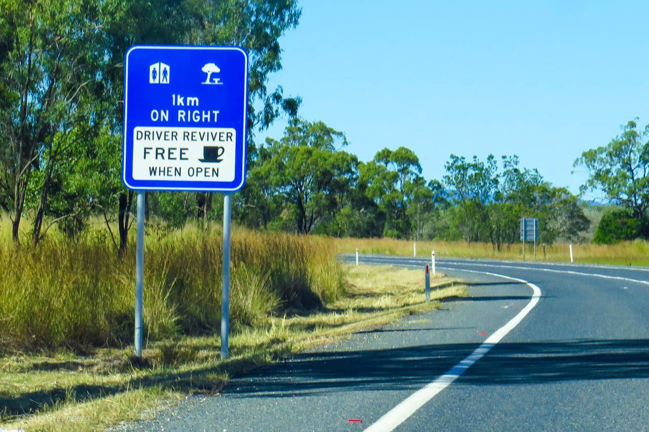 Driver Reviver - Köra bil i Australien