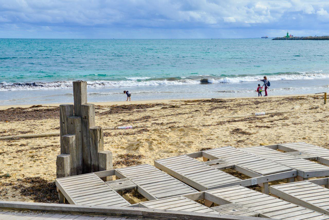 Strand vid Fremantle - Australien