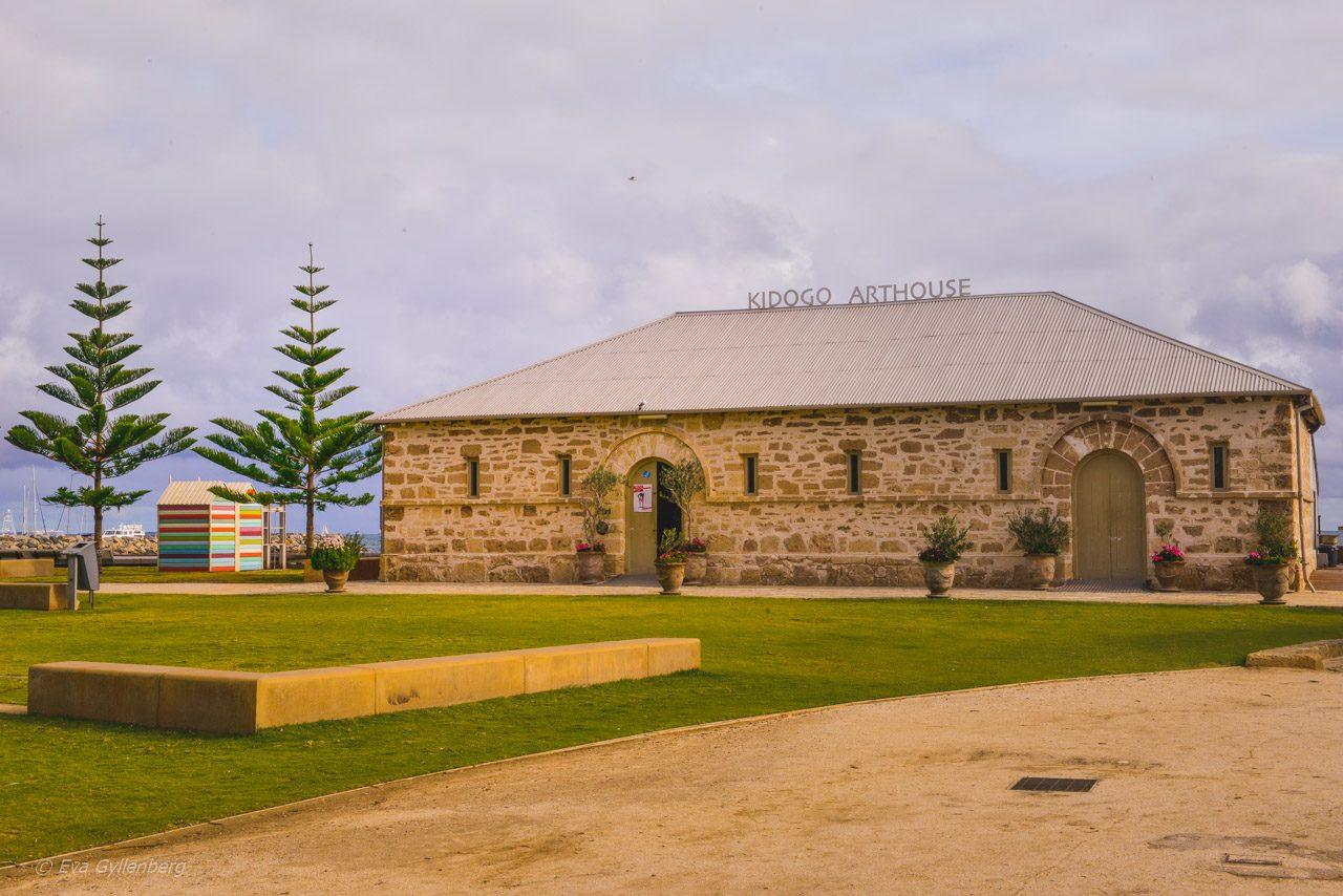 Historisk byggnad i Fremantle - Australien