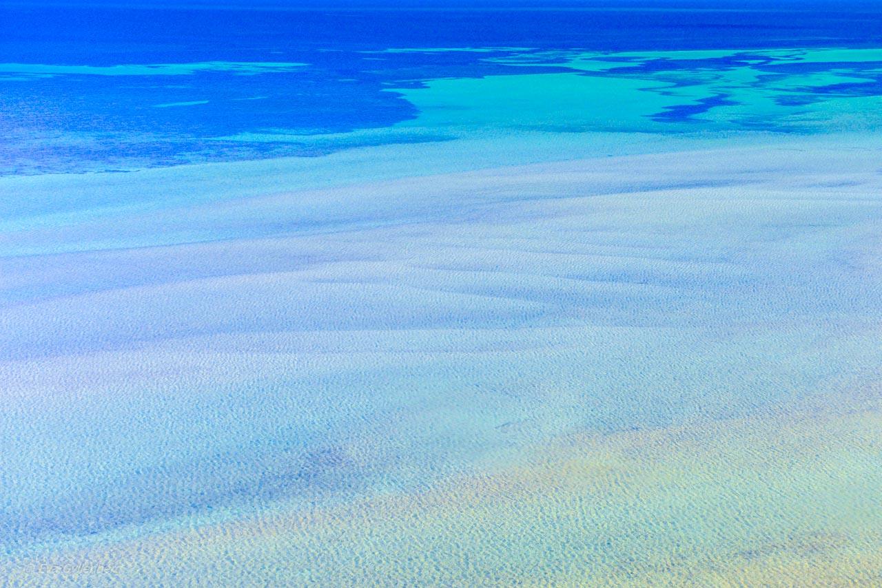 Shark bay's klara vatten