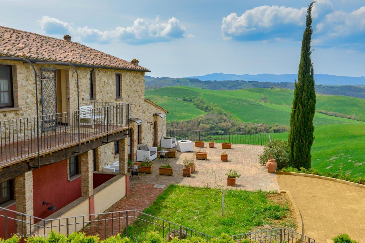 Vyerna från Il Palagetto i Toscana