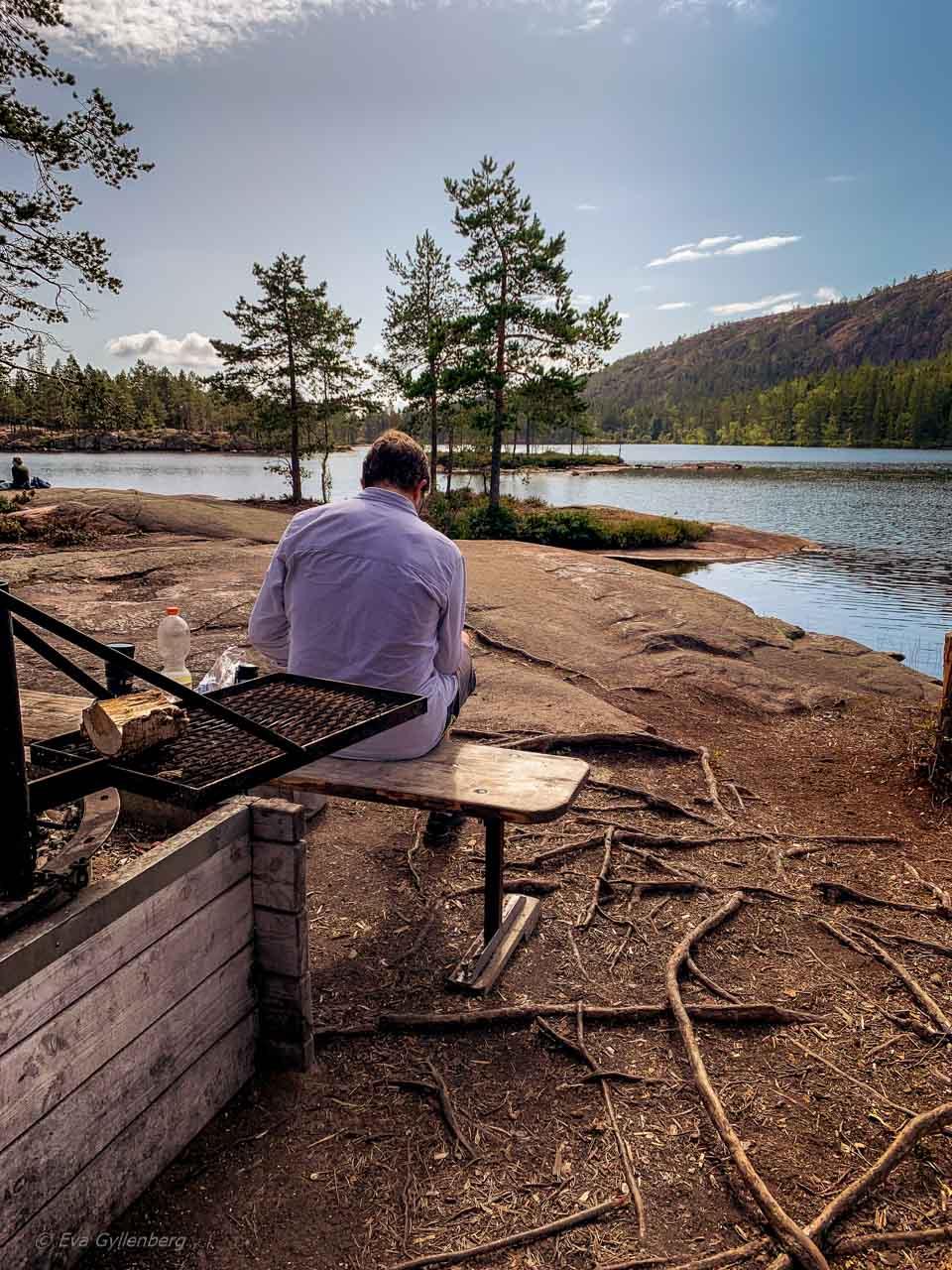 Tärnättvattnen i Skuleskogen