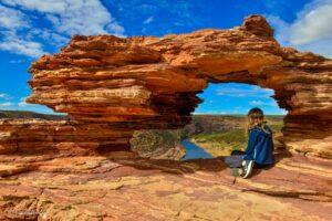 Kalbarri Nationalpark - Röda flodraviner och flugor i Western Australia - Del 1 55