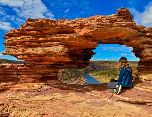 Kalbarri Nationalpark - Röda flodraviner och flugor i Western Australia - Del 1 4