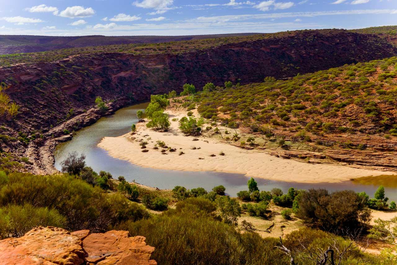 Kalbarri Nationalpark - Röda flodraviner och flugor i Western Australia - Del 1 32