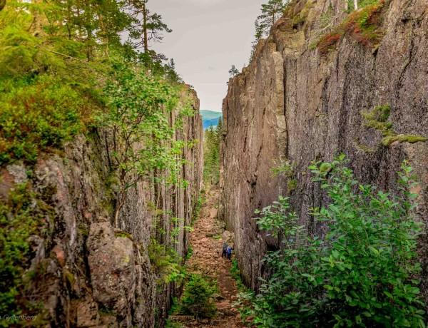 Vandra Slåttdalsskrevan - Skuleskogens mest dramatiska sida 4