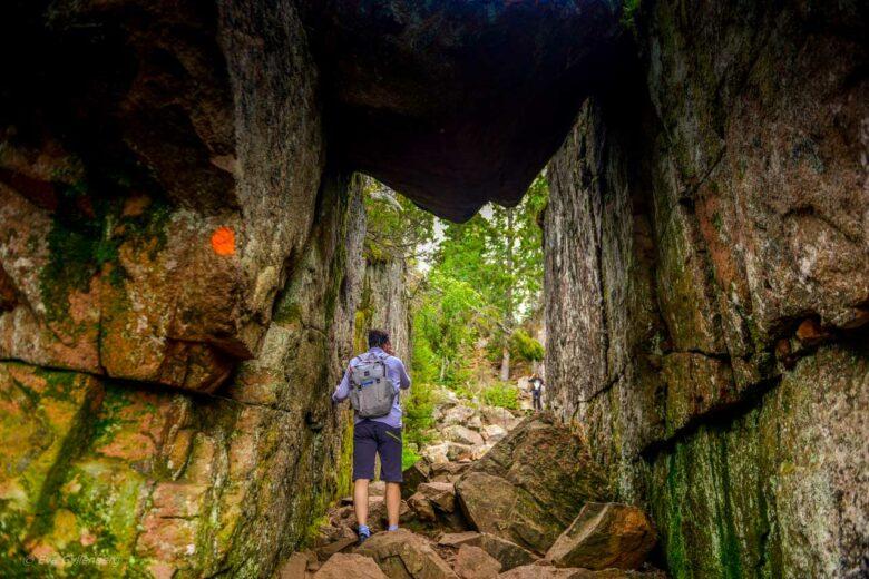 Under klippan i Skuleskogen