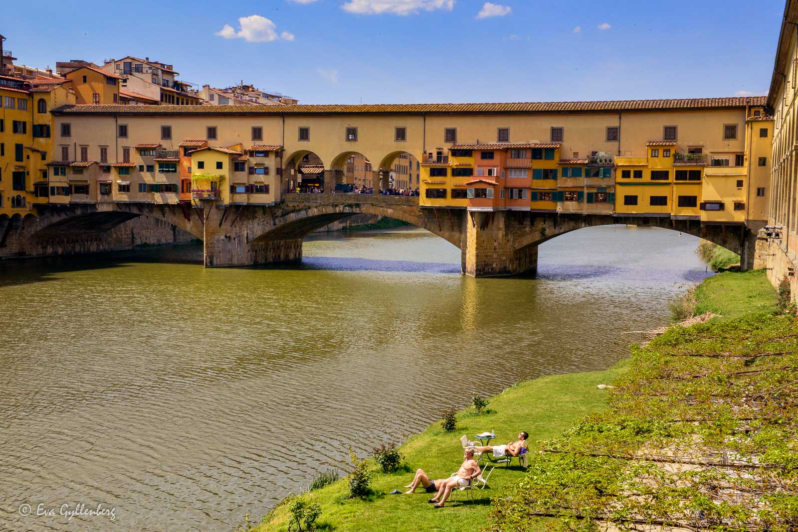 Florens-Italien-Ponte Vechio