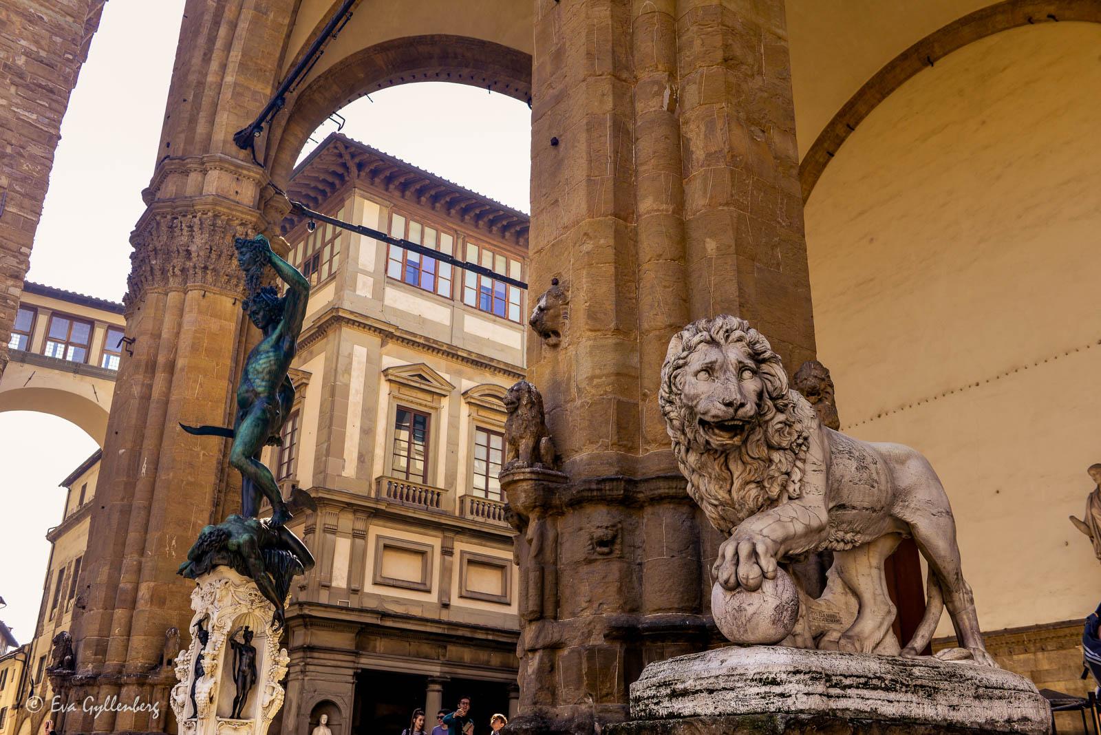 Florens-Italien-Staty