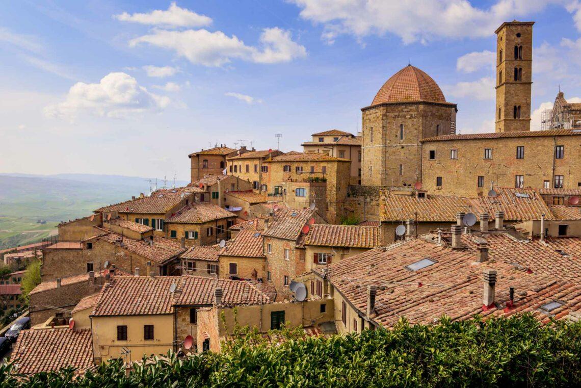 Volterra - Alabasterstaden på kullen i Toscana 1