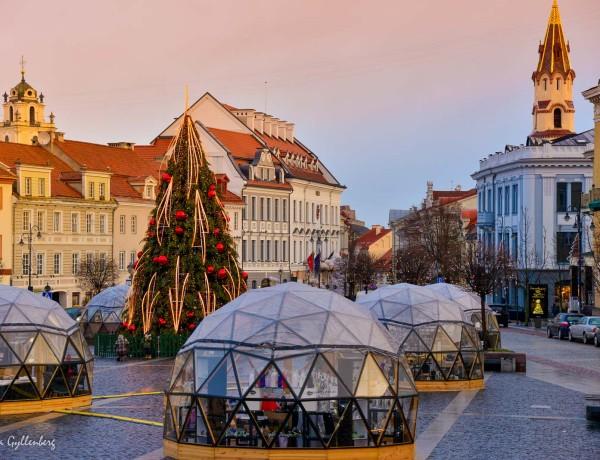 Julmarknader-Vilnius
