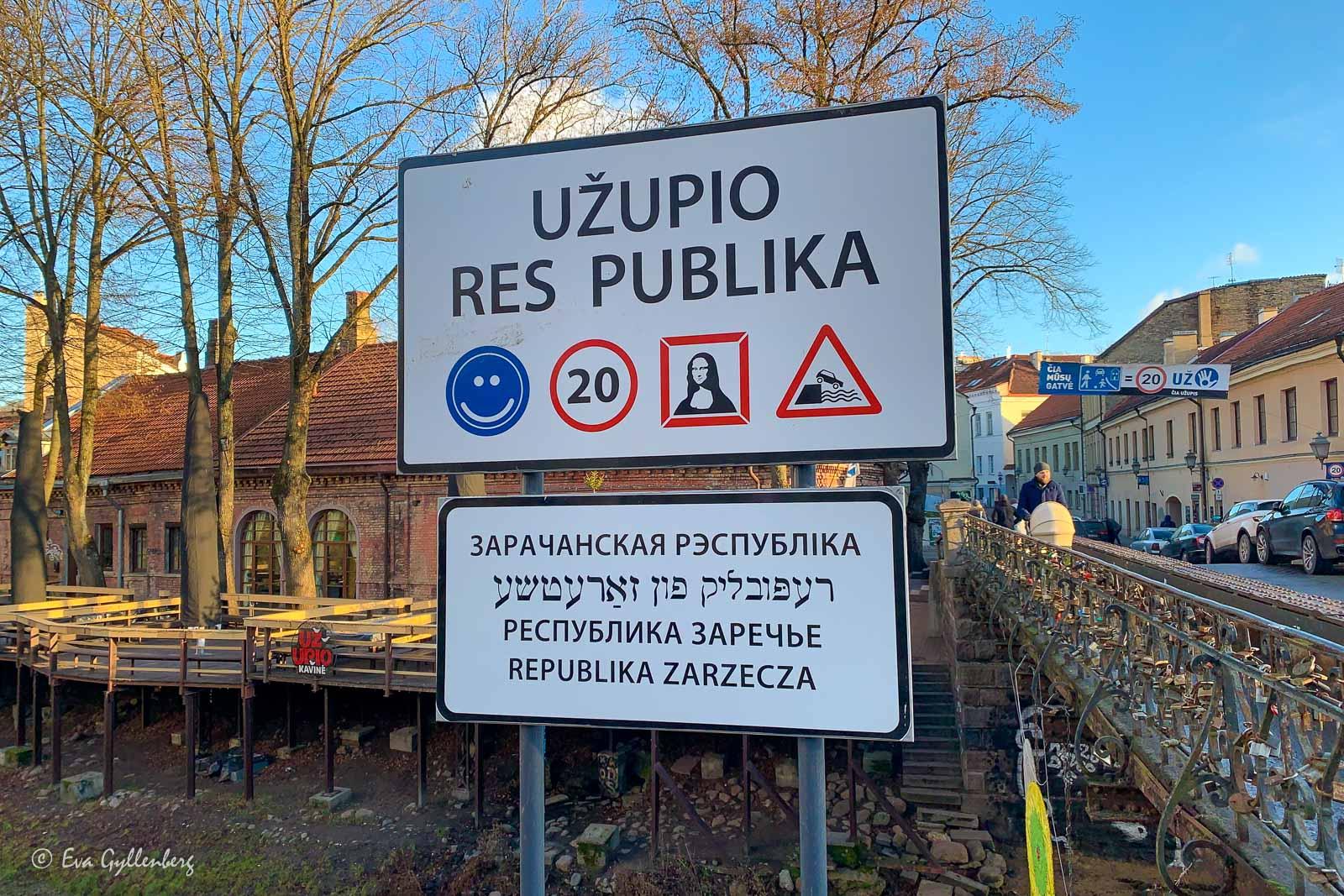 Uzupio - Vilnius