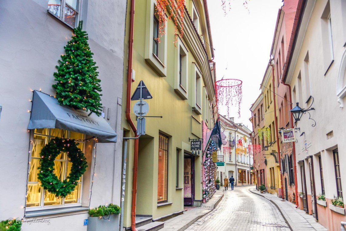 Gamla stan i Vilnius
