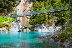 Blue pools i Mount Aspiring