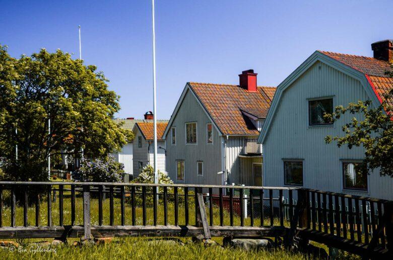 Huvudgatan på Ulvön