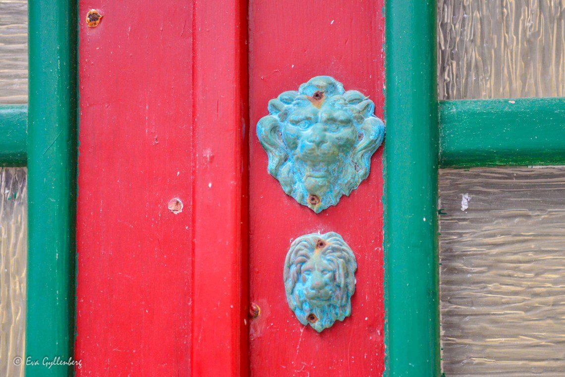 Dörr i Piran