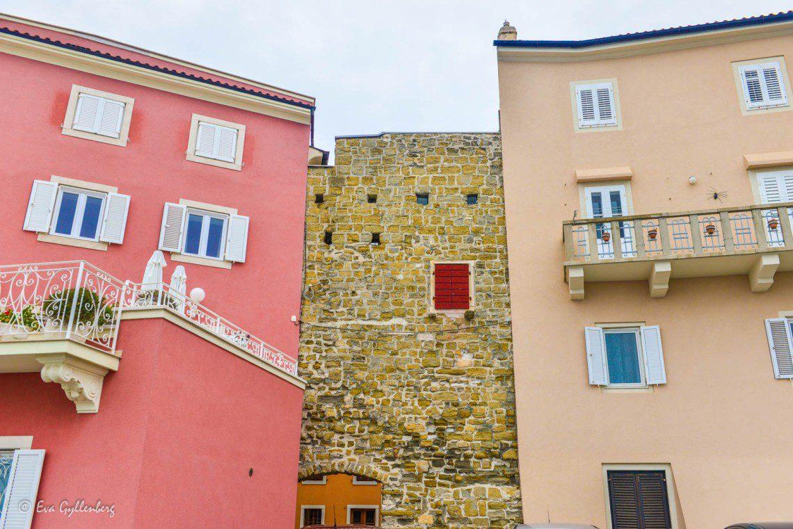 Hus i Piran
