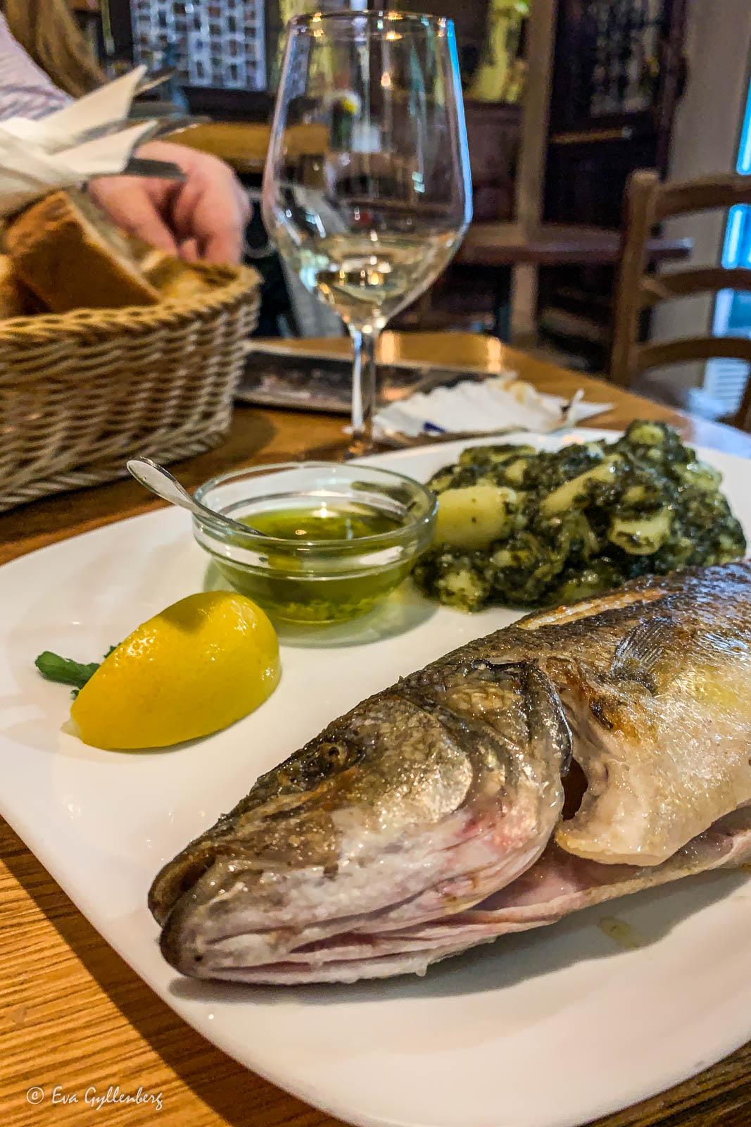 Restaurang i Piran