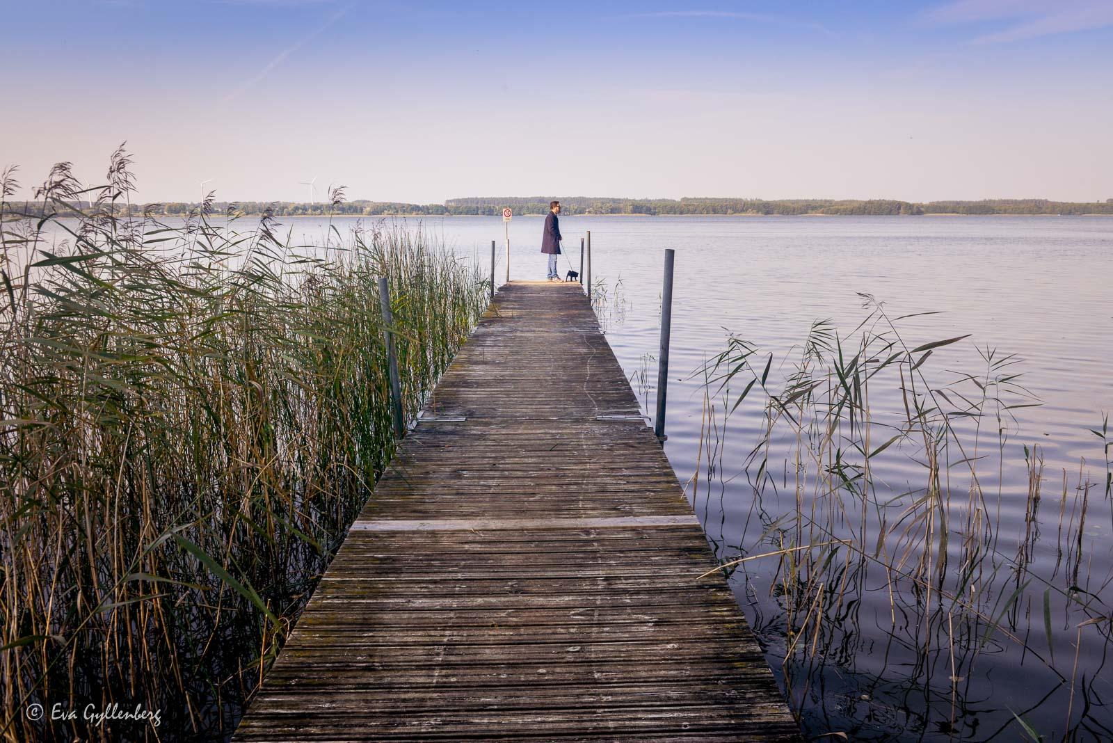 Oppmannasjön vid Bäckaskog slott