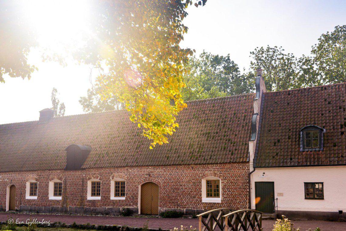 Innergården på Bäckaskog slott