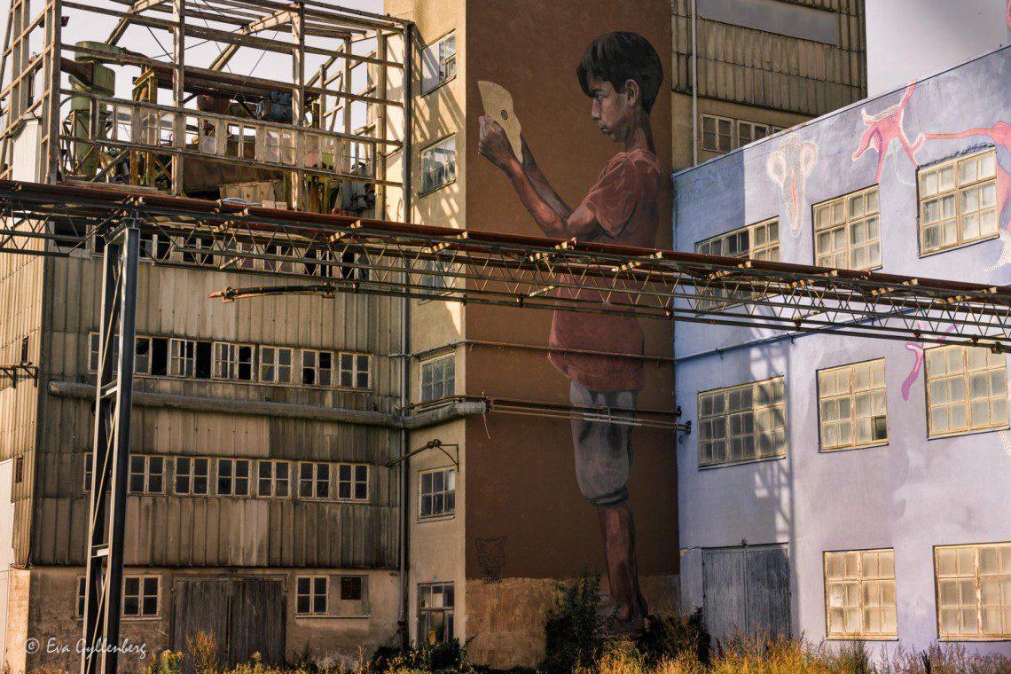 Grafitti i Bromölla