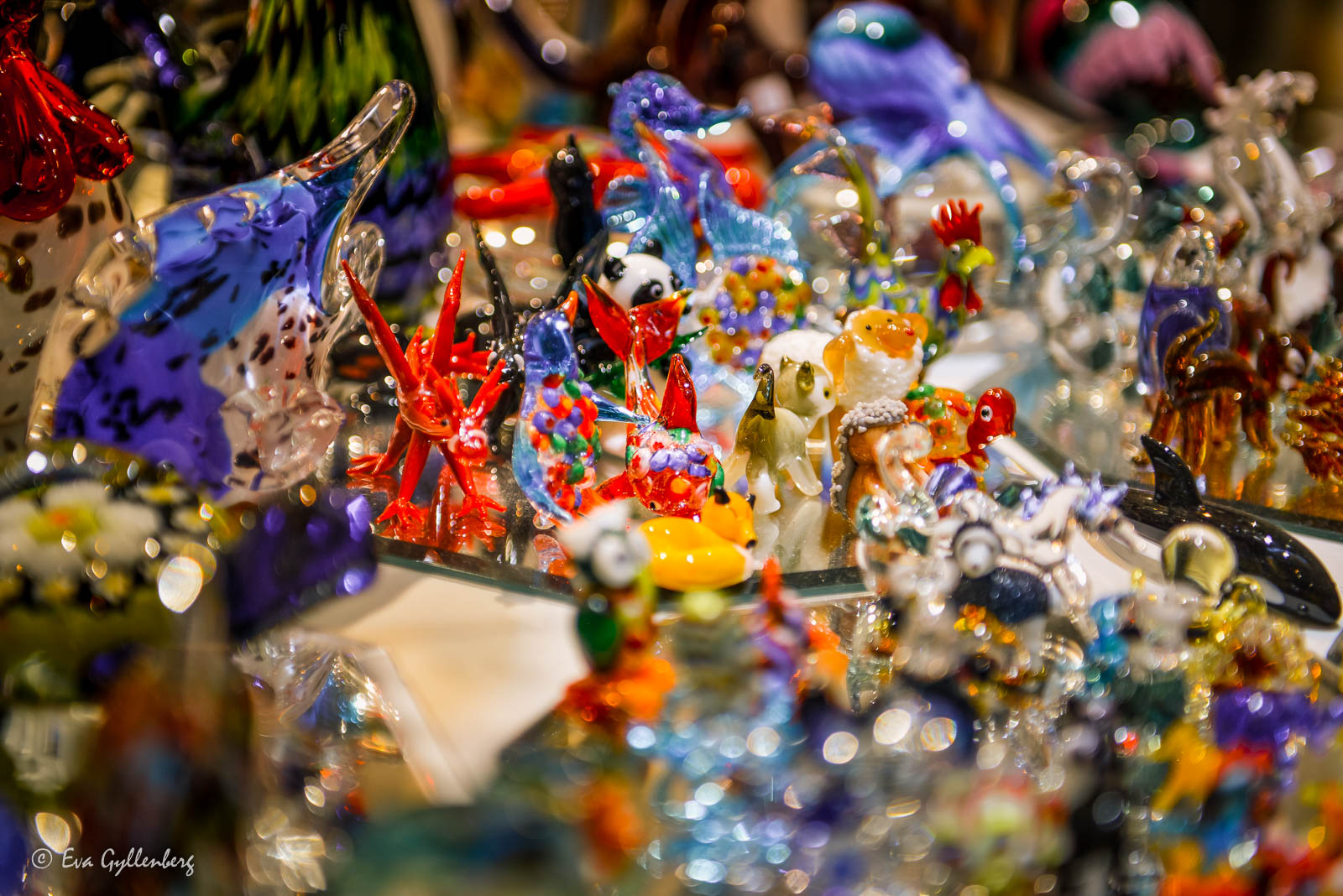 Glasfigurer i Venedig