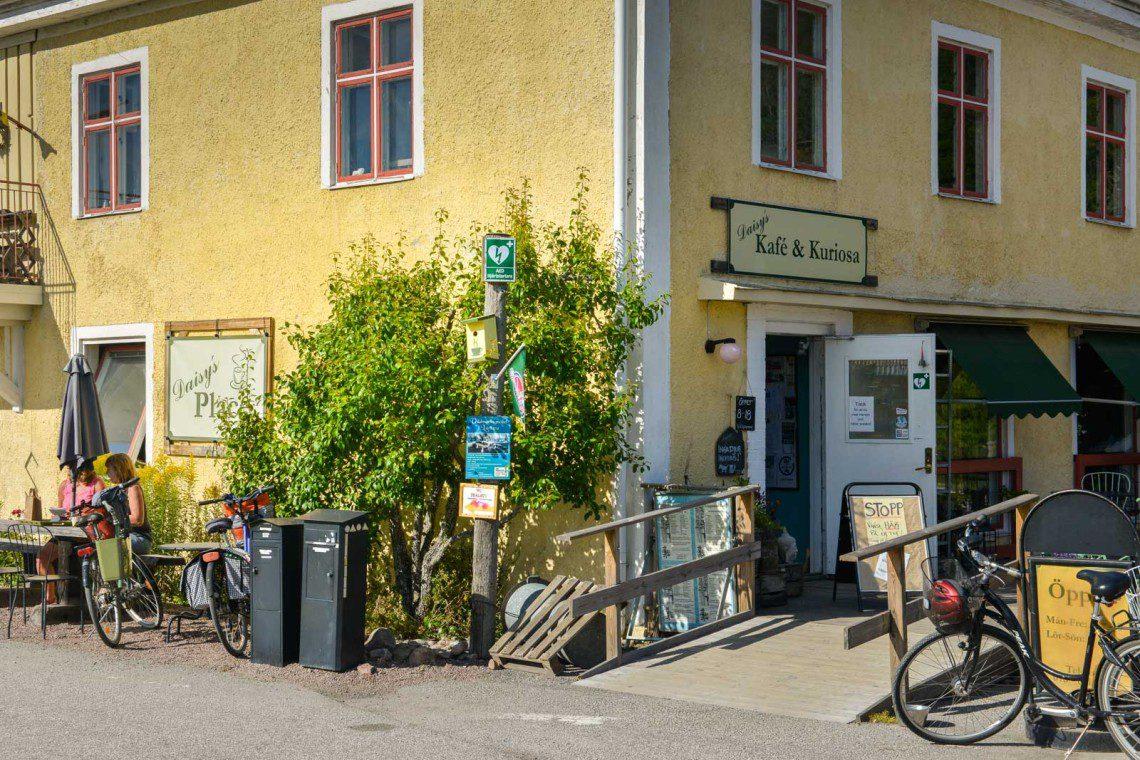 Café vid Göta Kanal
