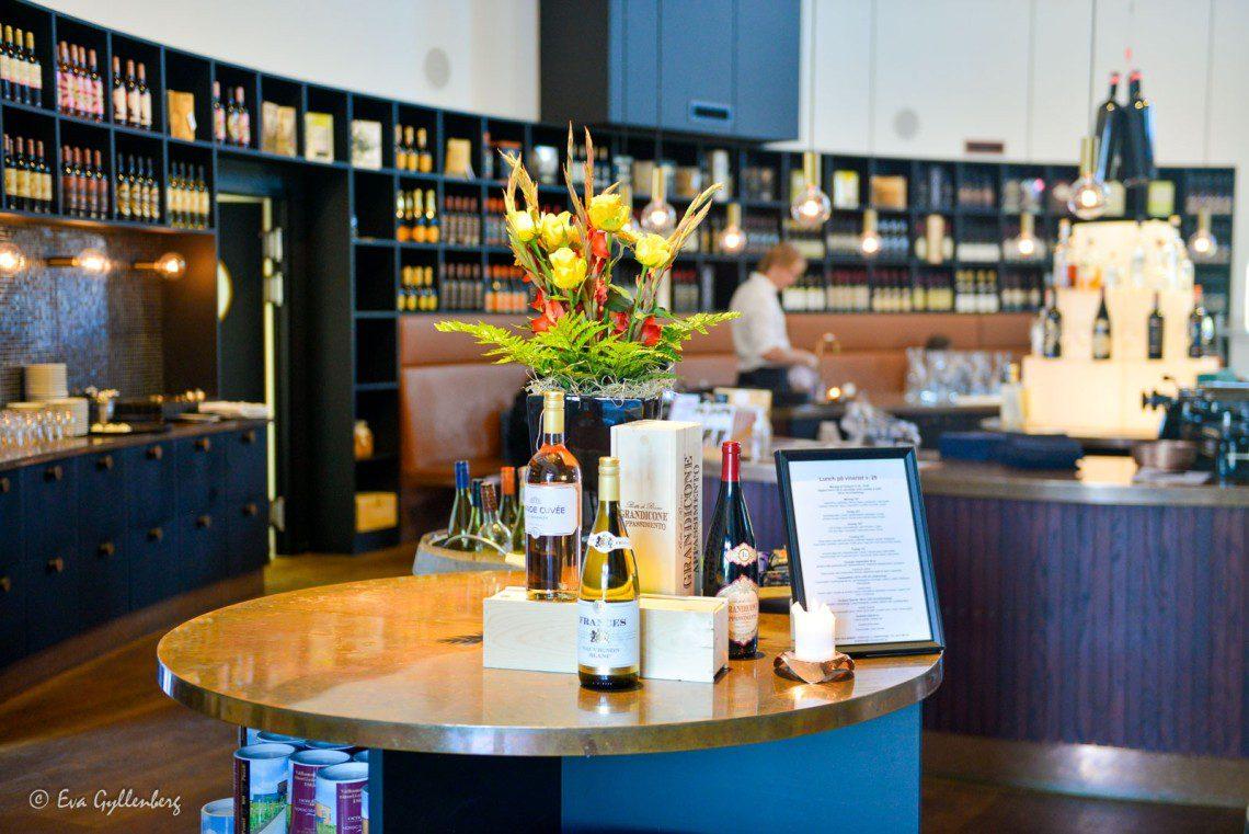 Restaurangen på Nordic Sea Winery