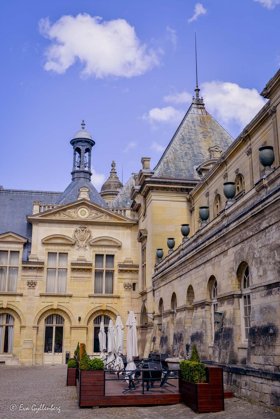 Slottets innergård