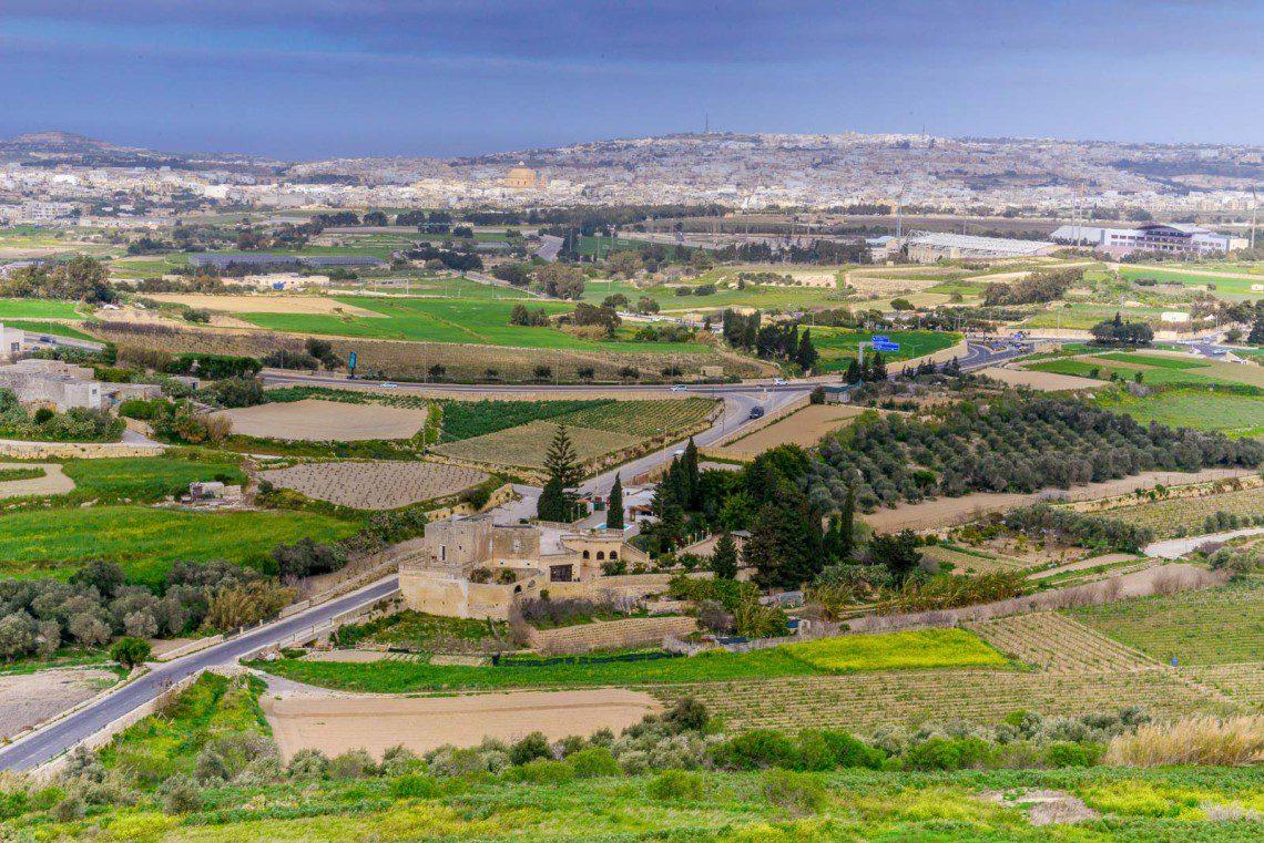 Utsikten från Mdina