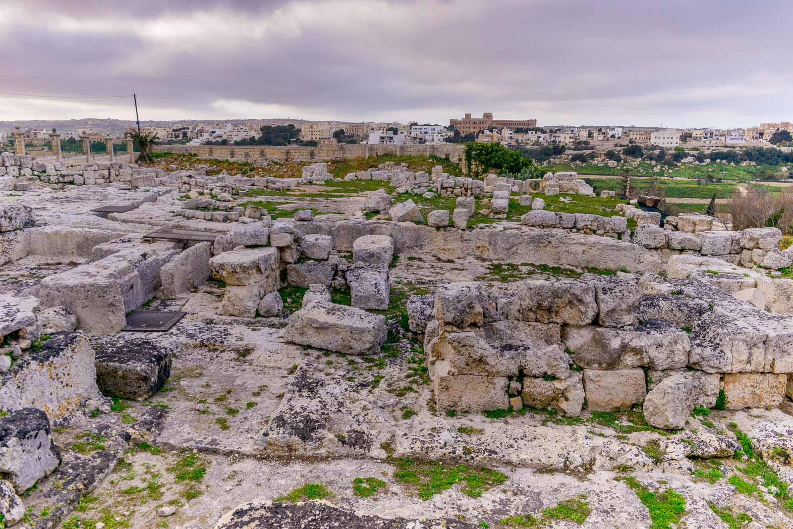Utgrävning i Mdina