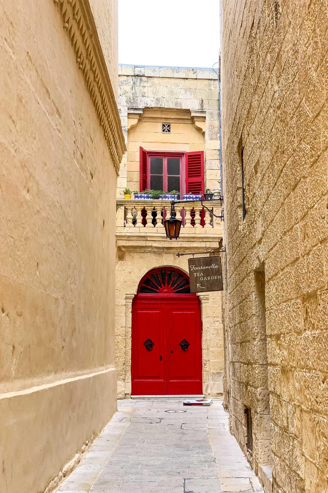 Fontarenella i Mdina