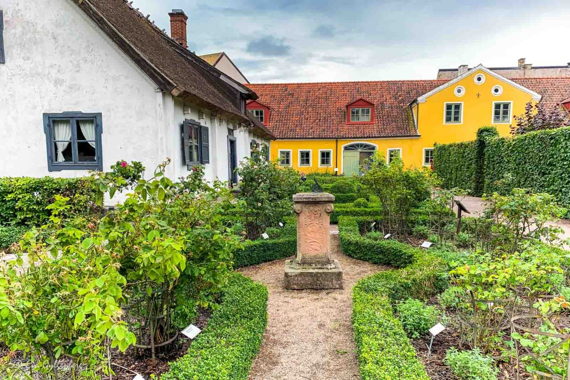 Fin köksträdgård i Kulturen i Lung
