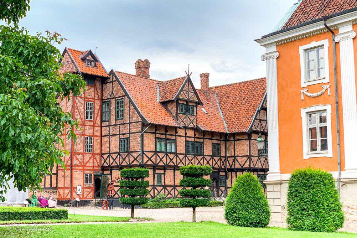 Vackra hus på Kulturen i Lund
