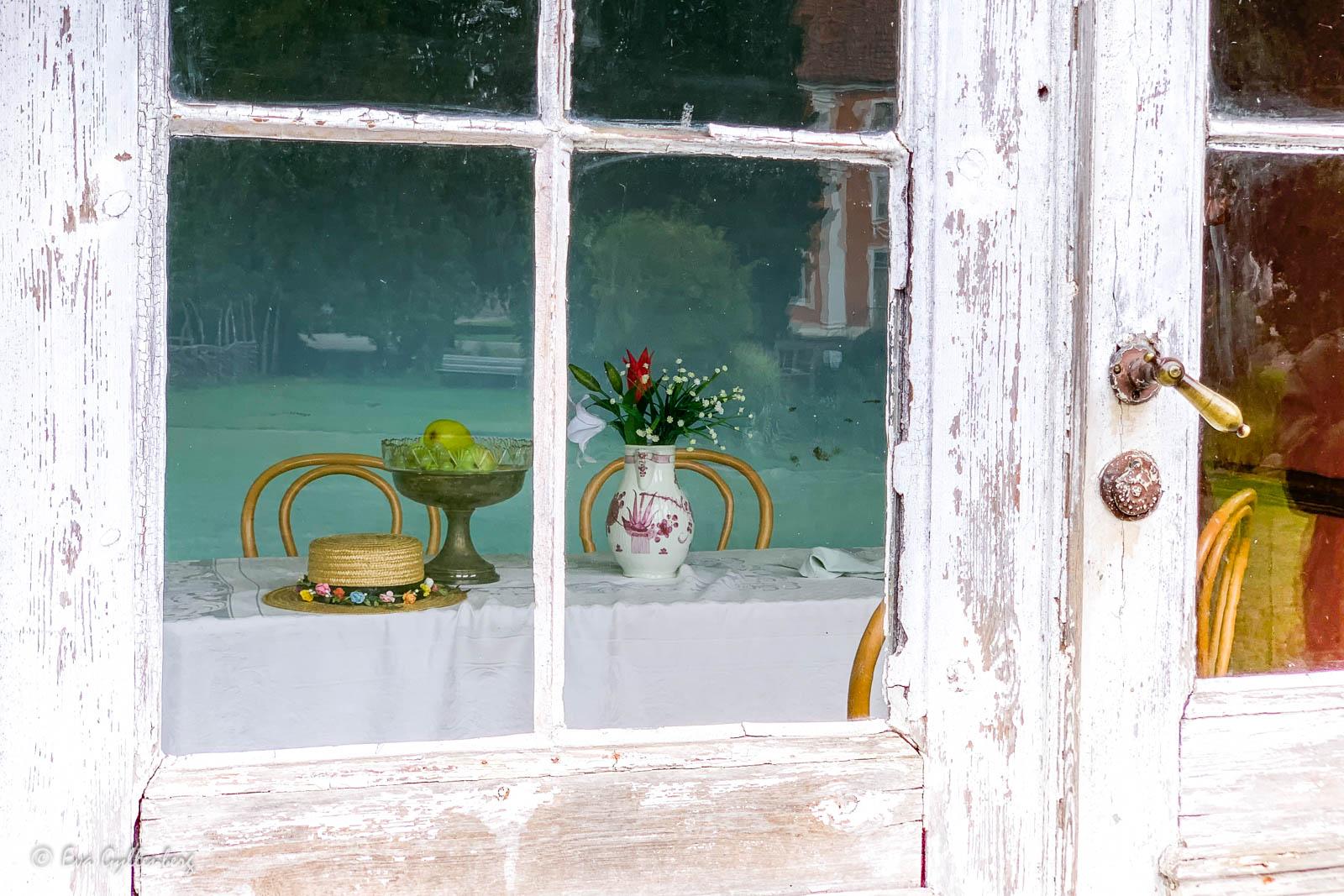 Fönster på Kulturen i Lund