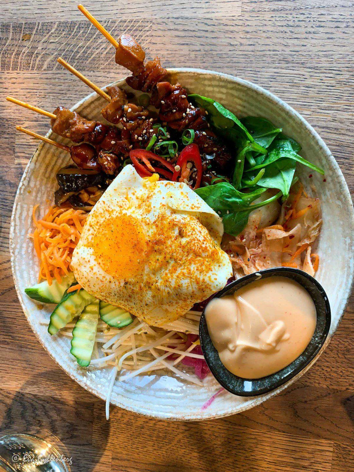 Asiatisk mat i Lund