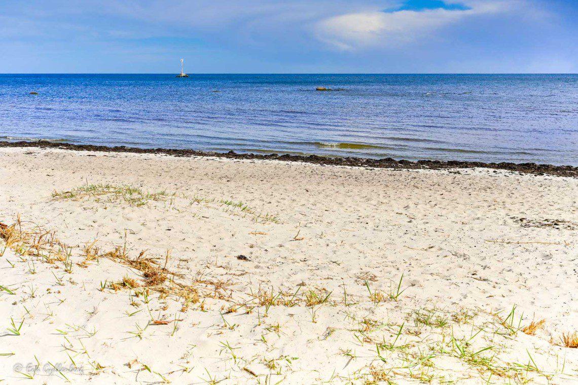 Vita stränder vid Åhus