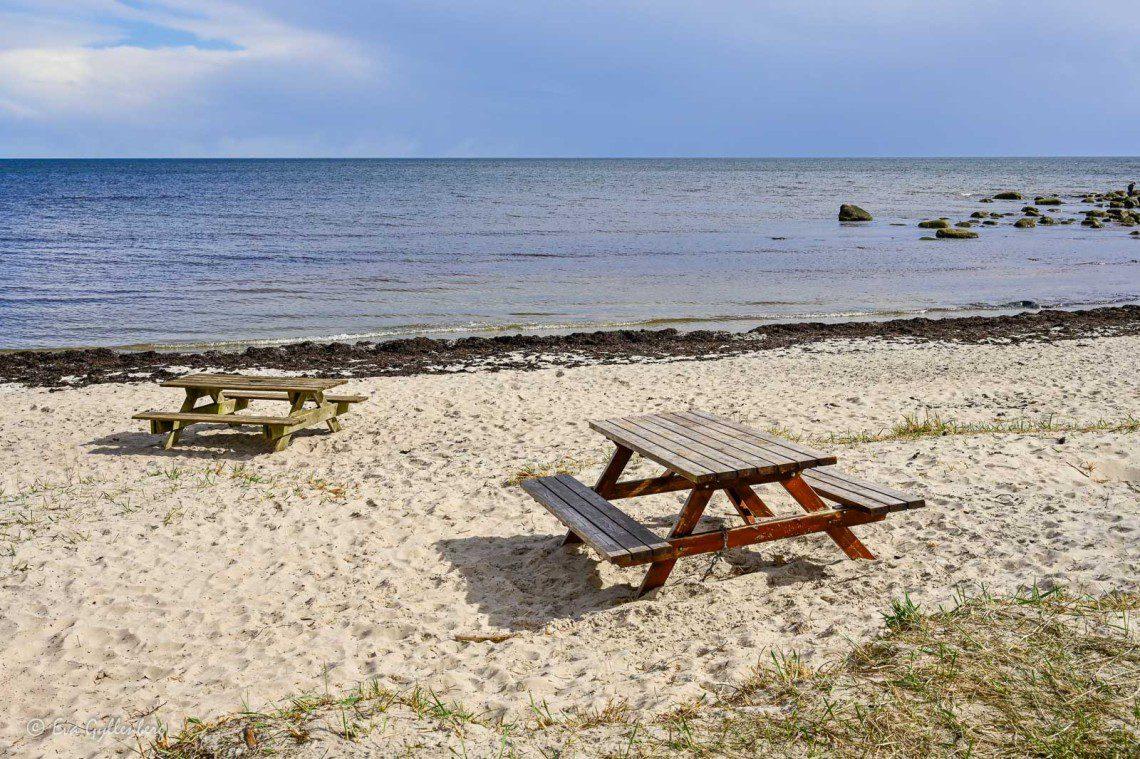 Picknickbord vid Åspet