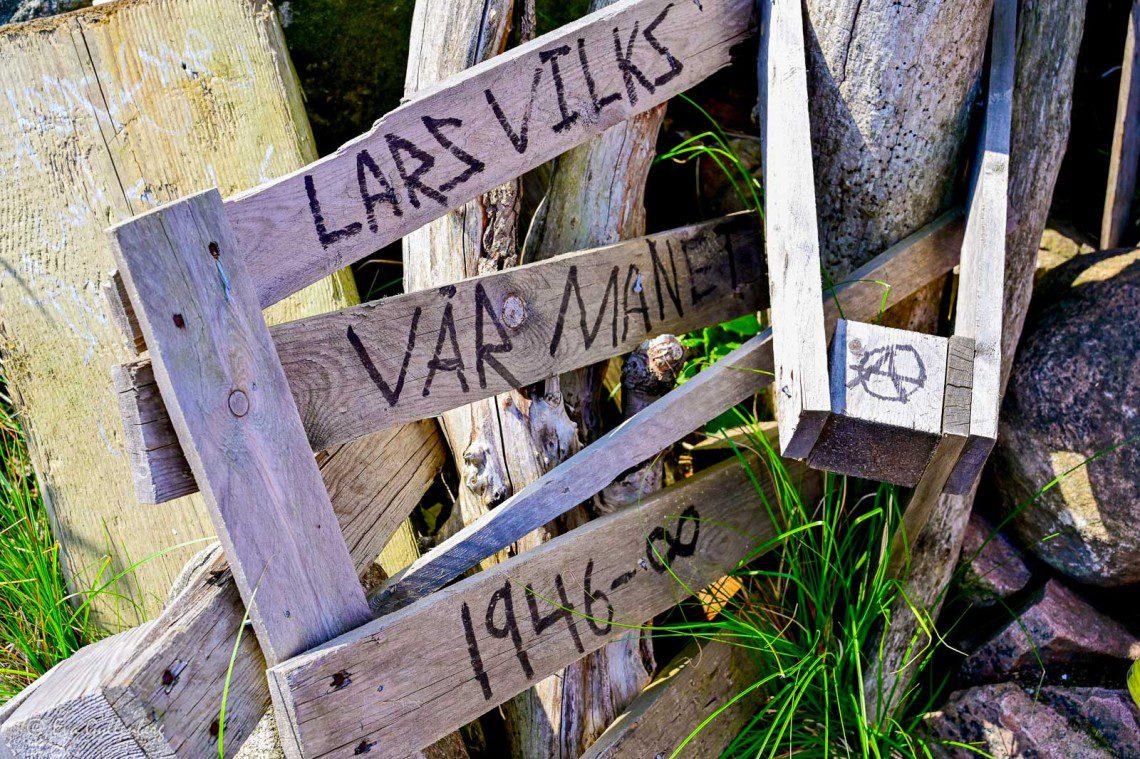 Skyle med Lars Vilks