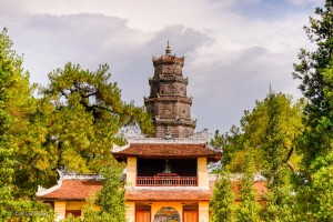 Thien Mu Pagoda - Hue - Vietnam